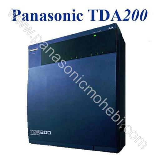 دستگاه سانترال پرظرفیت KX-TDA200